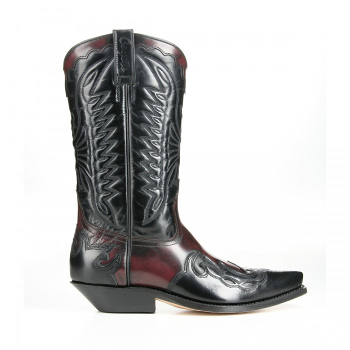 Mezcalero 5034 Wine Western Boots – Picture 3