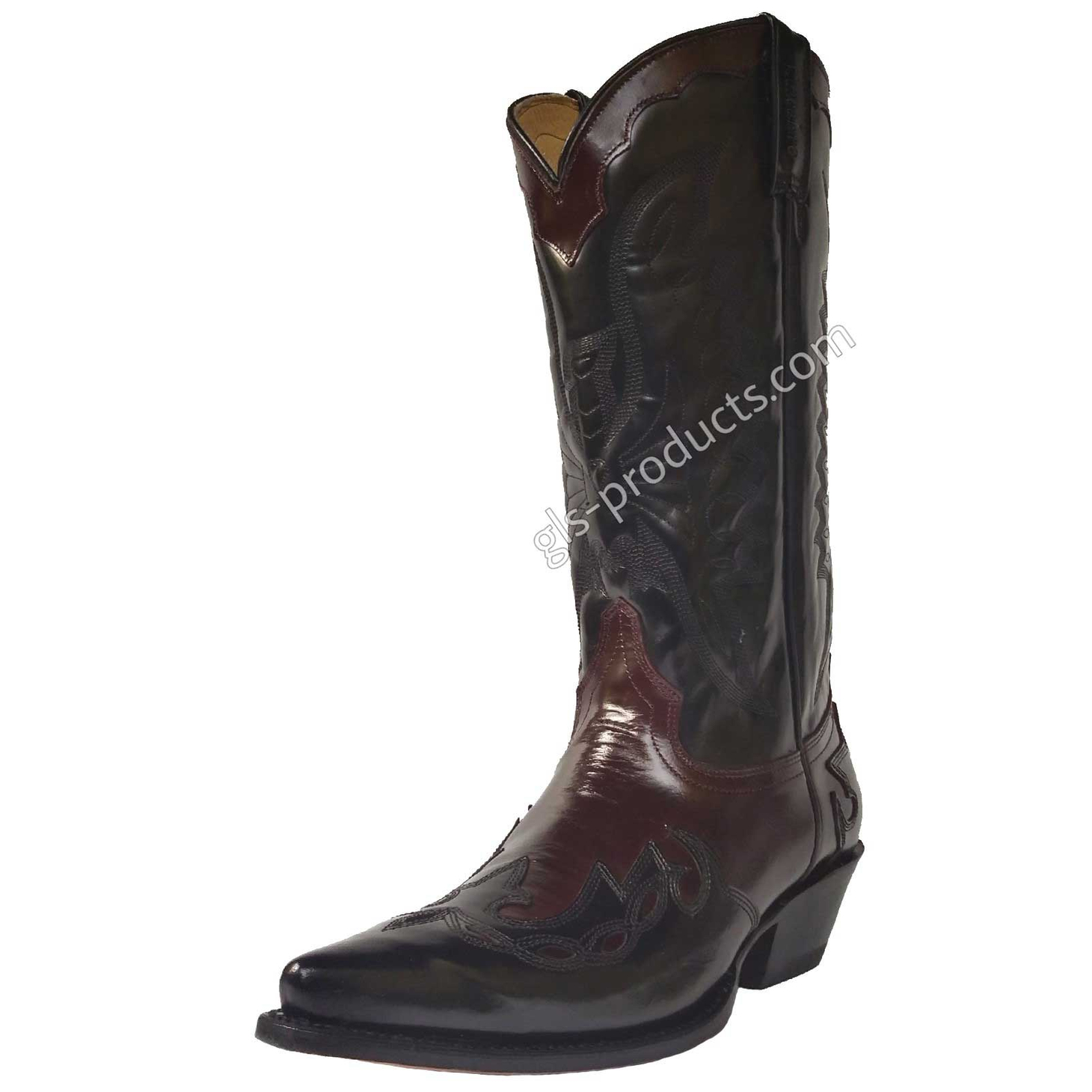 Mezcalero 5034 Wine Western Boots – Picture 1