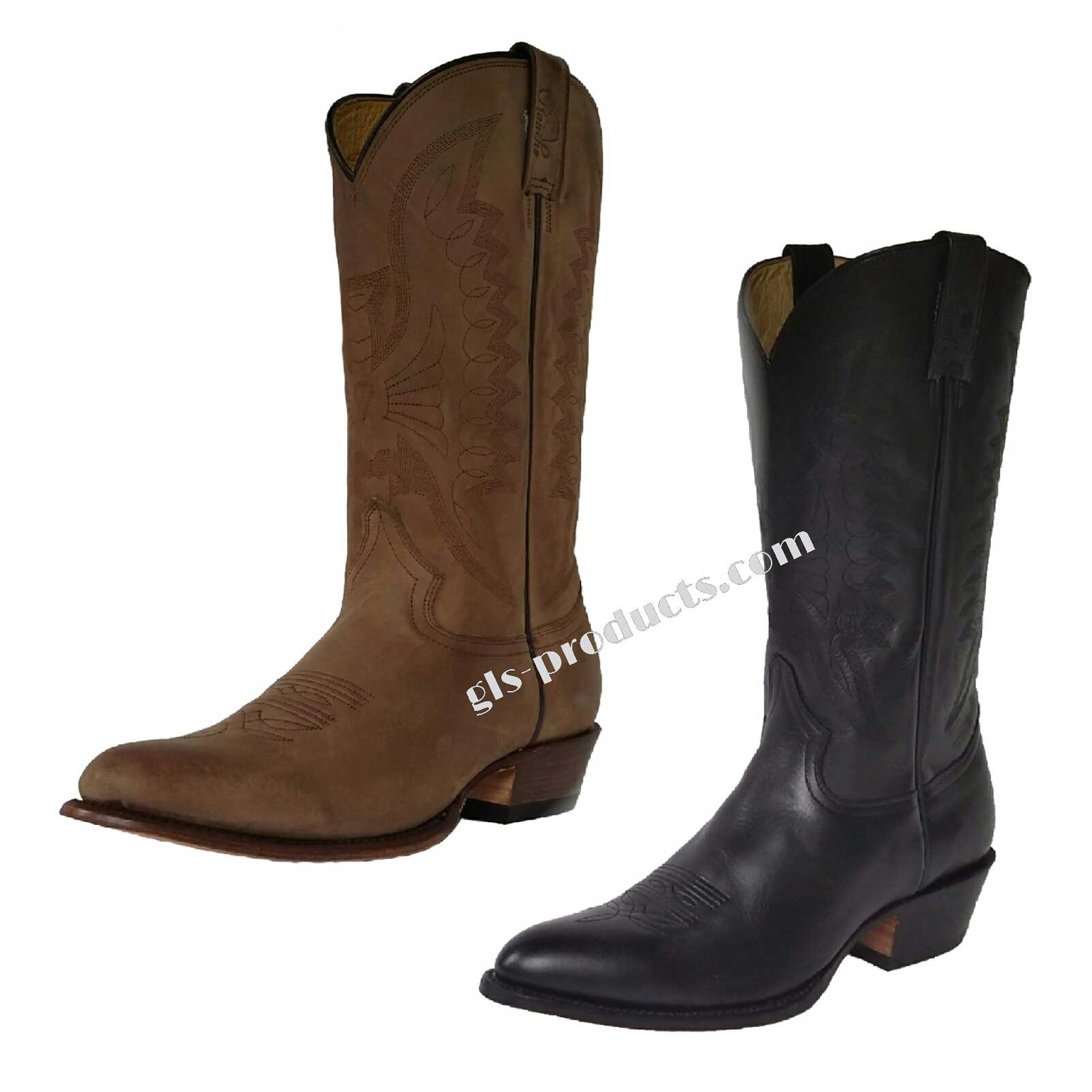 Rancho 2058 Western Boots, Cowboy Boots – Picture 1