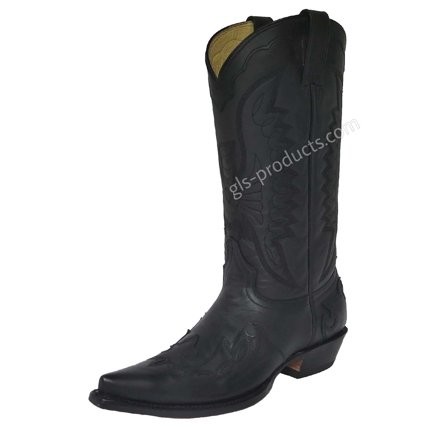 Rancho 5024 Western Boots with Flames – Picture 1