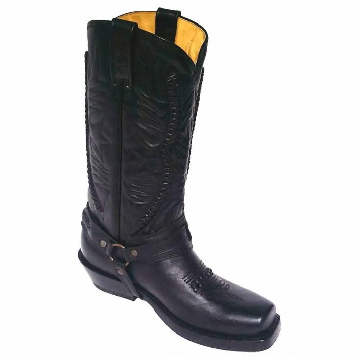Rancho Biker Boots 9064 black – Picture 2