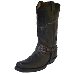 Rancho Biker Boots 9064 black 001