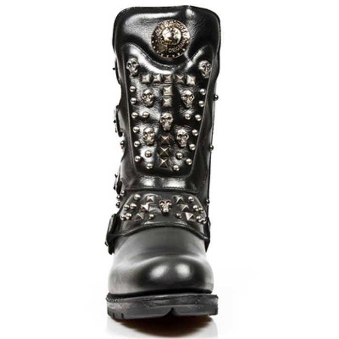New Rock Engineer Boots MR019 with studs and Skulls – Picture 5