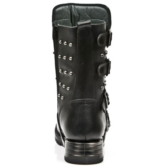 New Rock Engineer Boots MR019 with studs and Skulls – Picture 7