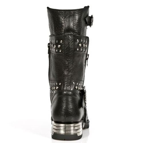 New Rock Engineer Boots MR022 with studs and zippers – Picture 3