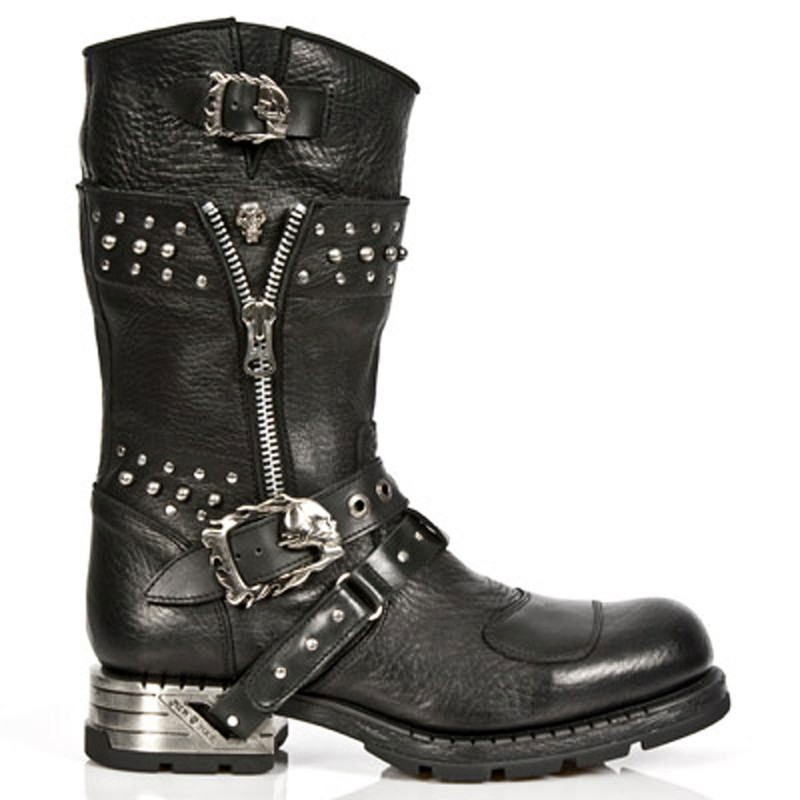 New Rock Engineer Boots MR022 with studs and zippers – Picture 6