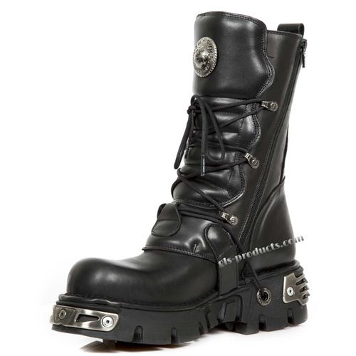 New Rock Boots 391, Skulls – Picture 4