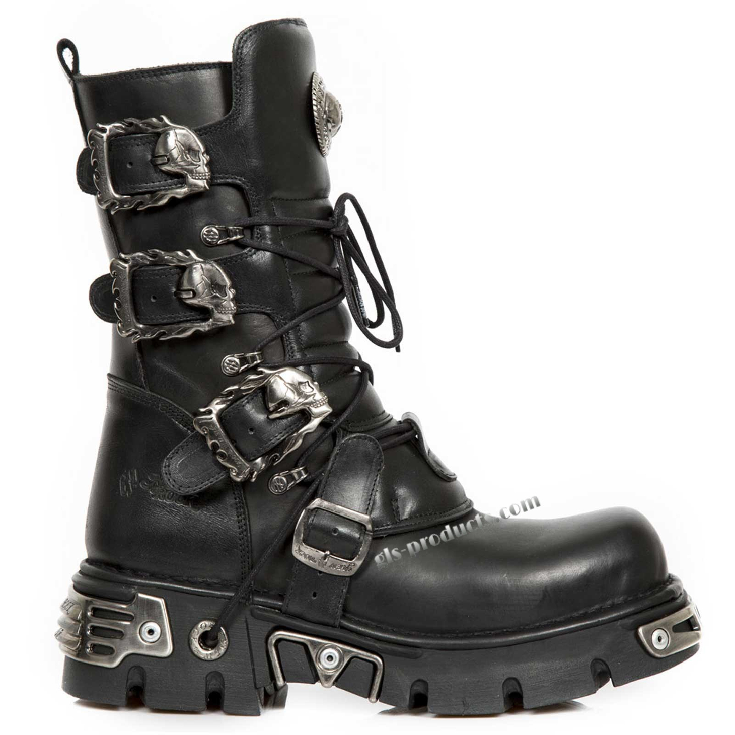 New Rock Boots 391, Skulls – Picture 3