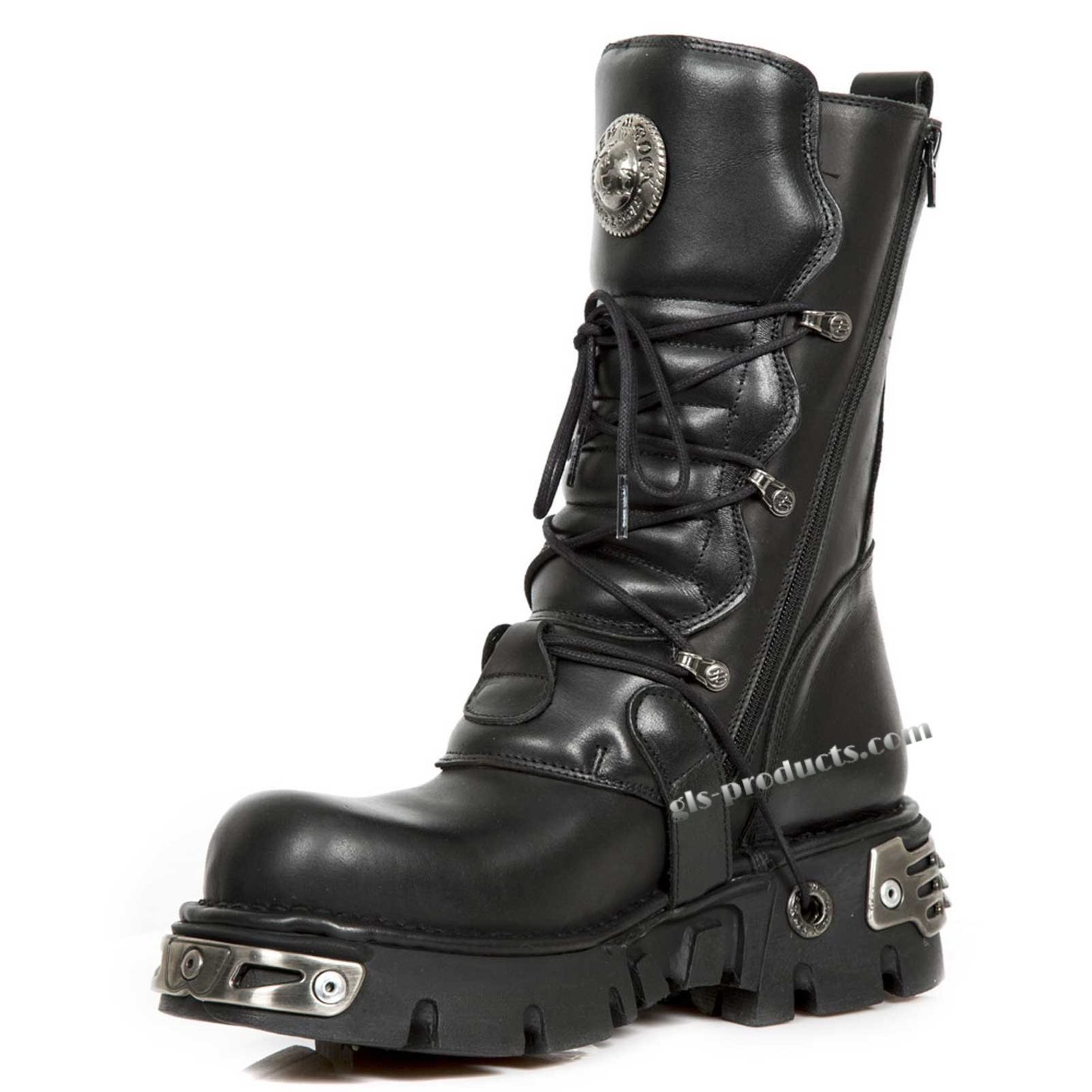 New Rock Boots 391, Skulls – Picture 6