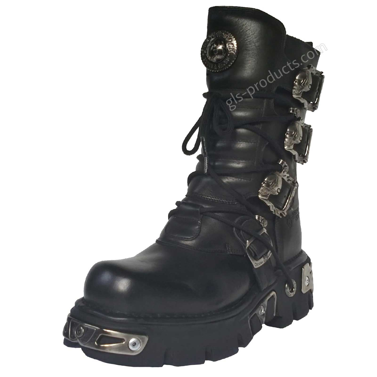 New Rock Boots 391, Skulls – Picture 2