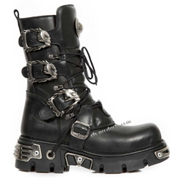 New Rock Boots 391, Skulls – Bild 3