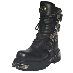 New Rock Boots 391, Skulls – Bild 2