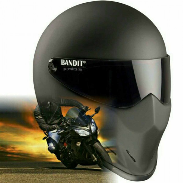 Bandit - Crystal Helmet - for Streetfighter, Mad Max - Fibreglass – Picture 10