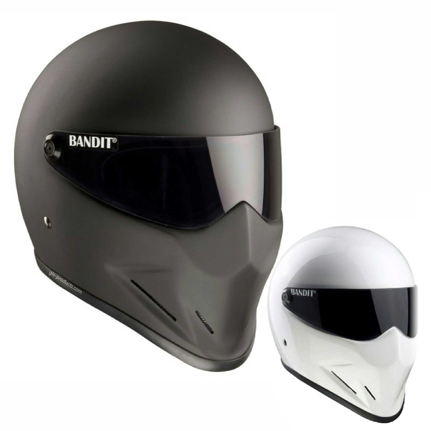 Bandit - Crystal Helmet - for Streetfighter, Mad Max - Fibreglass