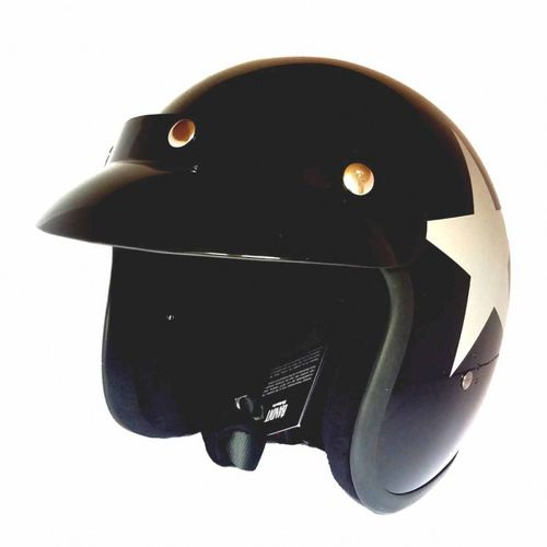 Bandit Helm Star Black – Bild 3