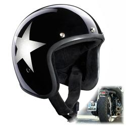 Bandit Jethelm Star Black Motorradhelm 001