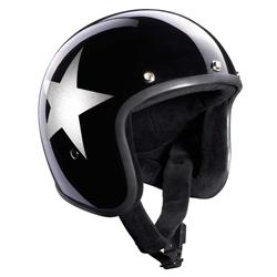 Bandit Jethelm Star Black Motorradhelm – Bild 2