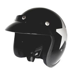 Bandit Jethelm Star Black Motorradhelm – Bild 3