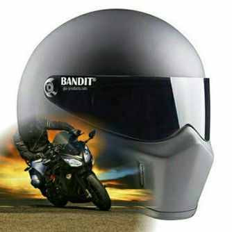Bandit - Super Street 2 - New Motorcycle Helmet - for Streetfighter – Picture 7
