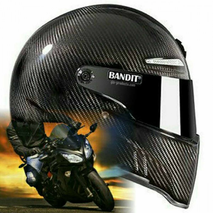 Bandit - New Original Alien II - Motorcycle Helmet - for Streetfighter – Picture 10