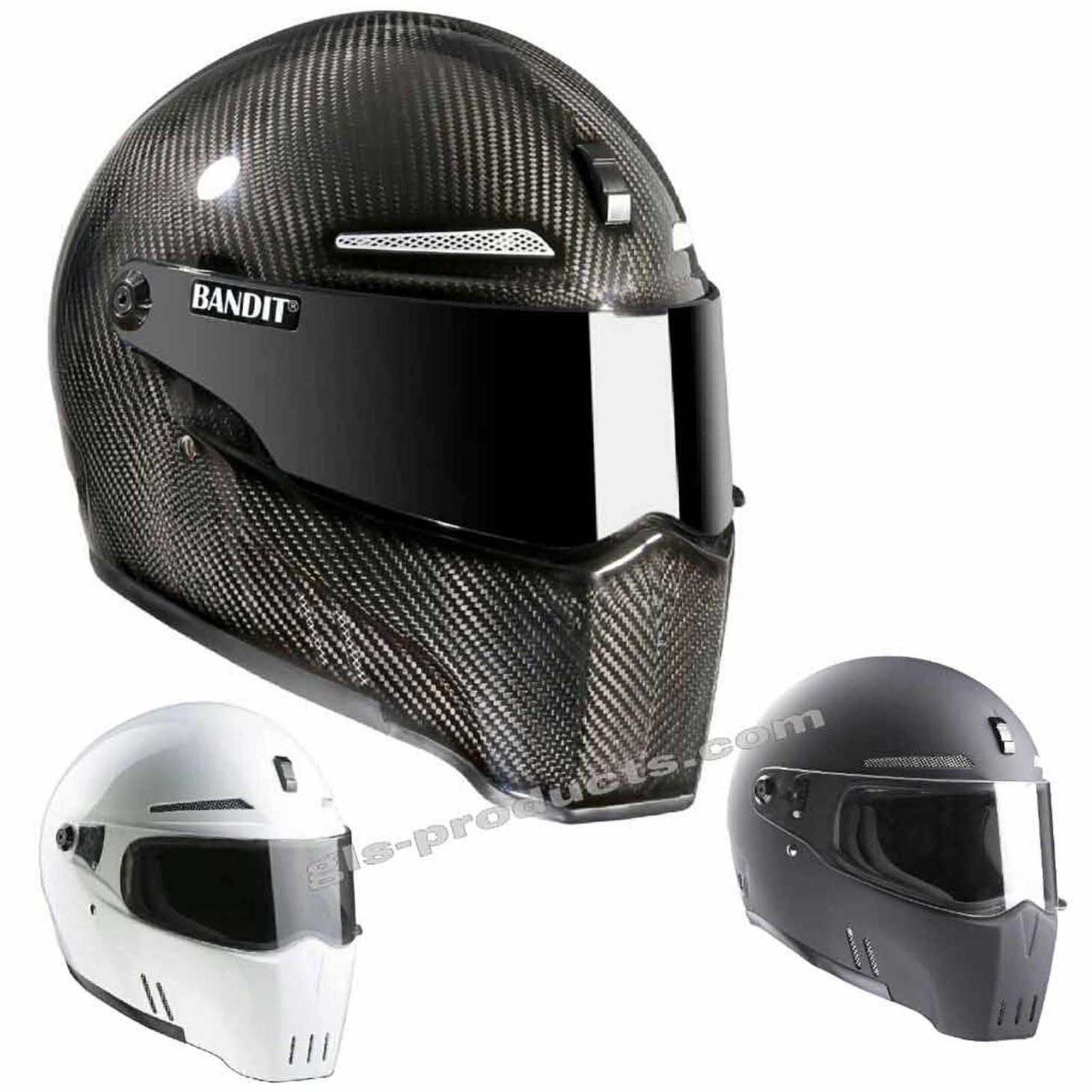 Bandit - New Original Alien II - Motorcycle Helmet - for Streetfighter – Picture 12