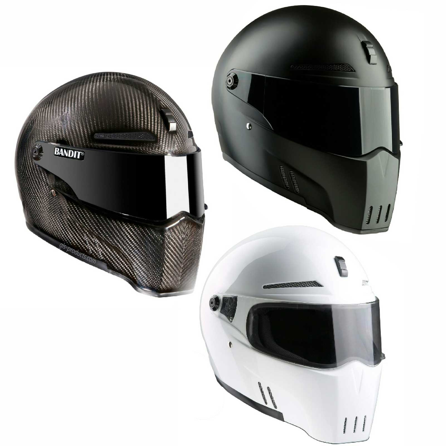 Bandit - New Original Alien II - Motorcycle Helmet - for Streetfighter – Picture 1