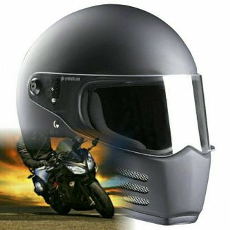 Bandit - Fighter Helmet - for Streetfighter, Mad Max - Fibreglass – Picture 10
