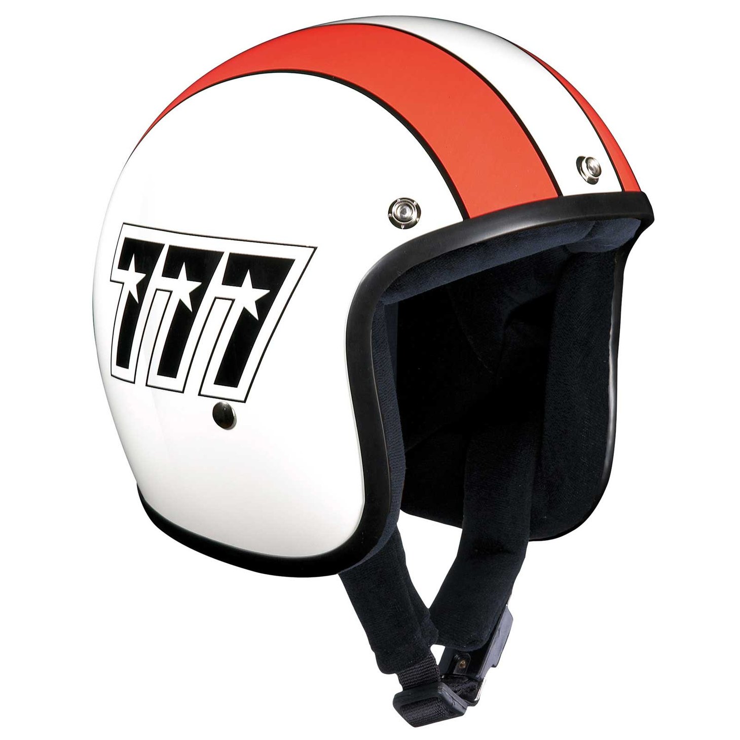 Bandit 777 Original Jet Helmet - Motorcycle Helmet In Classic Design – Picture 2