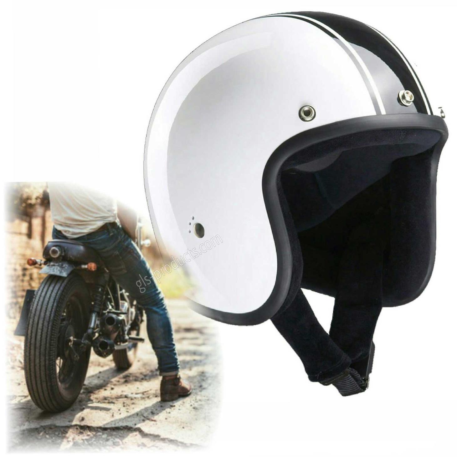 Bandit Classic Jet Helmet - Classic Motorcycle Helmet