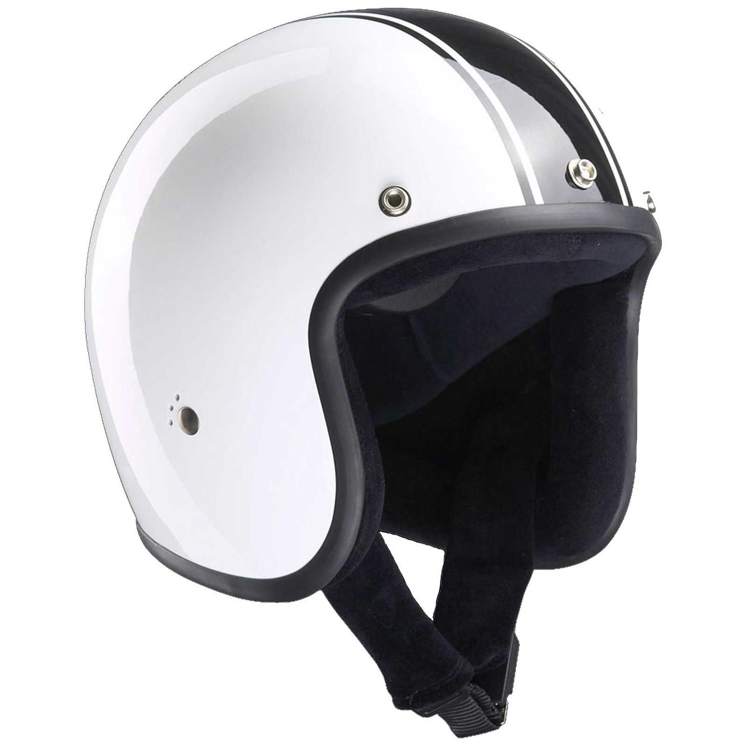 Bandit Classic Jet Helmet - Classic Motorcycle Helmet – Picture 2