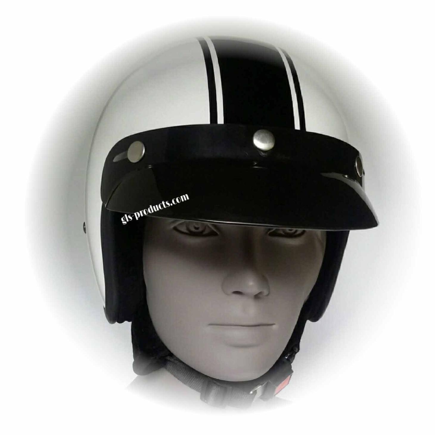 Bandit Classic Jet Helmet - Classic Motorcycle Helmet – Picture 3