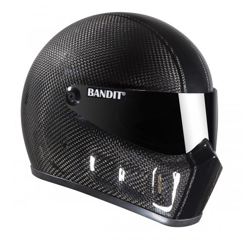 Bandit - Super Street 2 Carbon - New Motorcycle Helmet - for Streetfighter – Picture 1