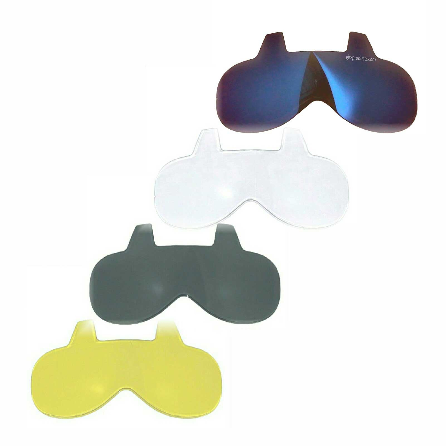 Bandit Mini Visor Inserts - For Almost All Jet Helmets – Picture 1