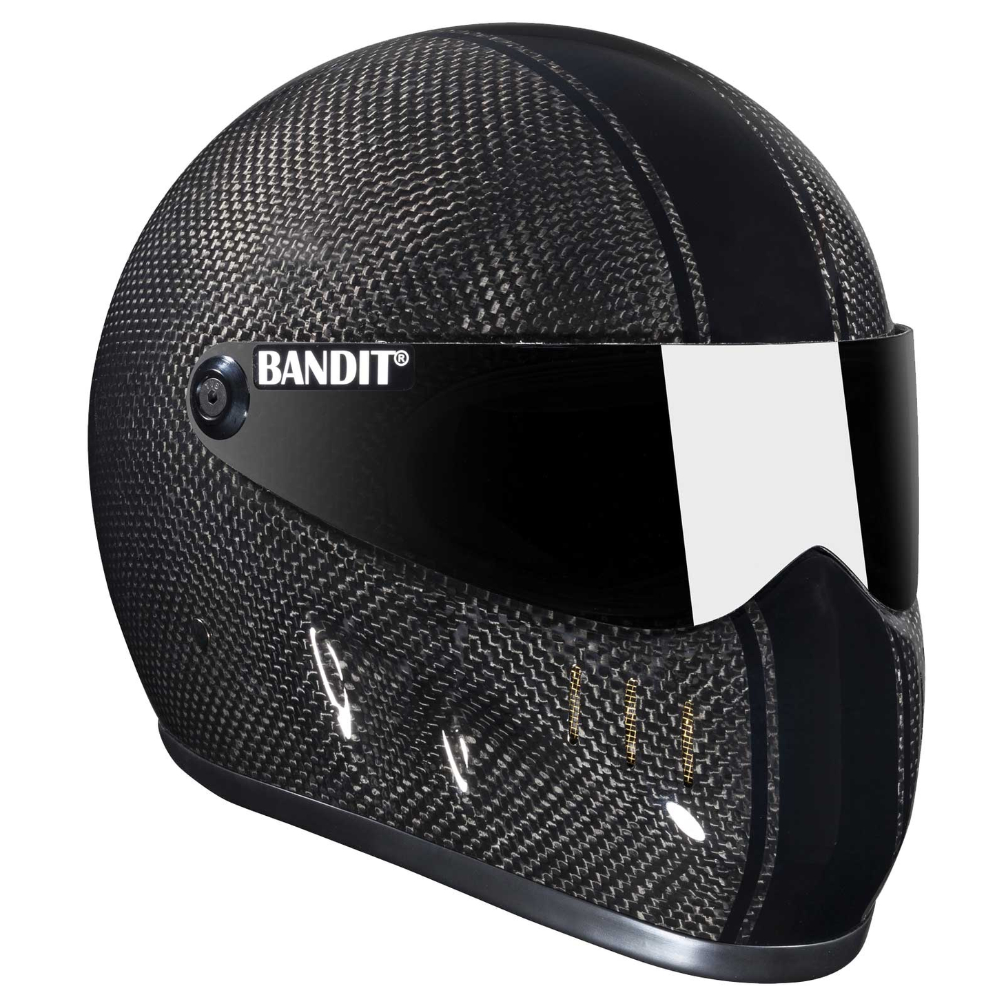 Bandit - XXR Carbon - New Motorcycle Helmet - for Streetfighter, Mad Max – Picture 2