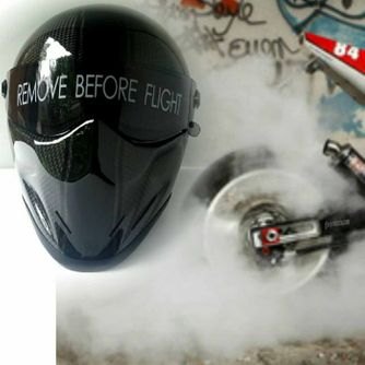 Bandit - Crystal Carbon - New Motorcycle Helmet - for Streetfighter, Mad Max – Picture 12