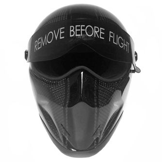 Bandit - Crystal Carbon - New Motorcycle Helmet - for Streetfighter, Mad Max – Picture 11