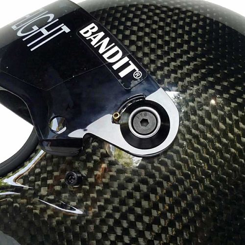 Bandit - Crystal Carbon - New Motorcycle Helmet - for Streetfighter, Mad Max – Picture 6