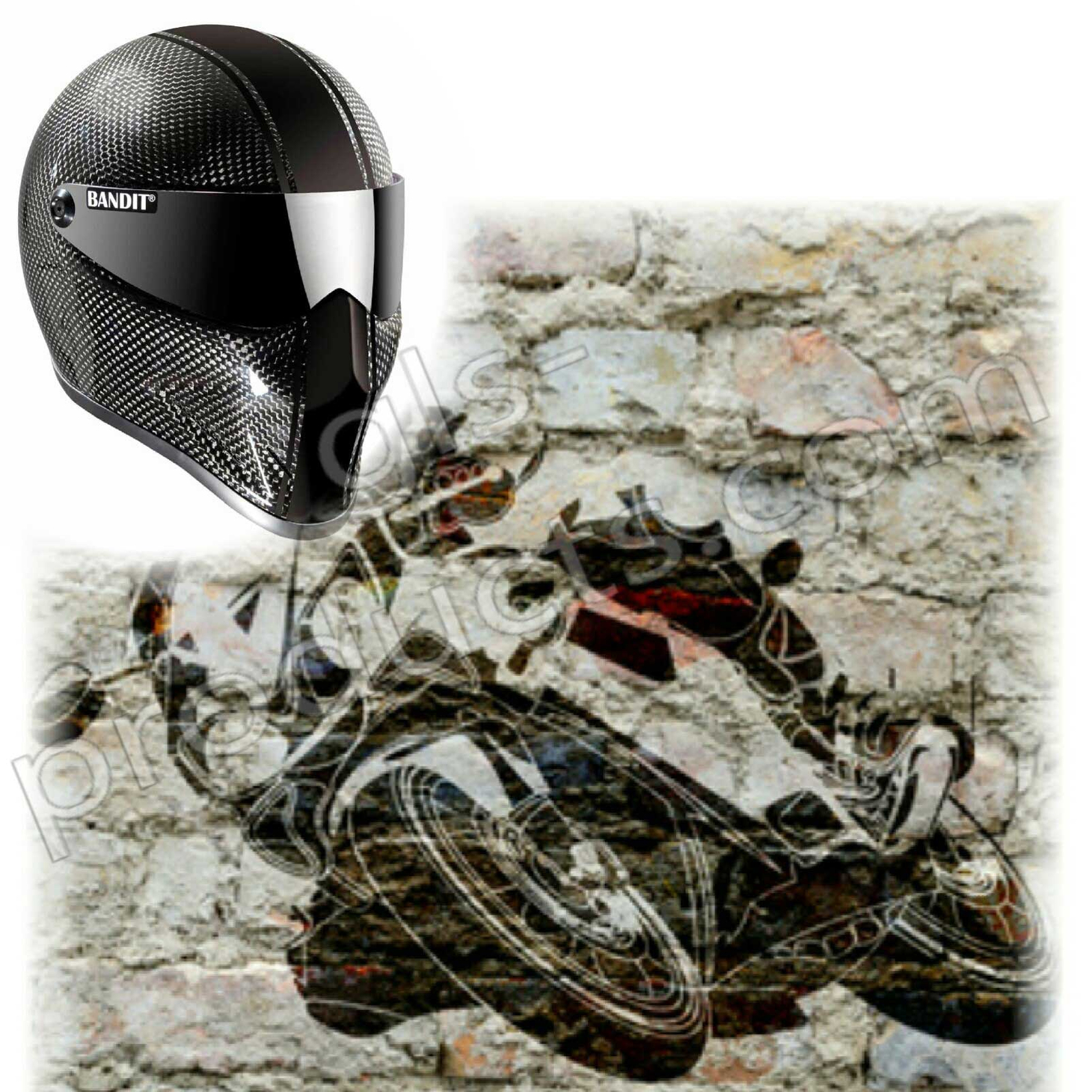 Bandit Crystal Race Carbon for Streetfighter – Picture 8