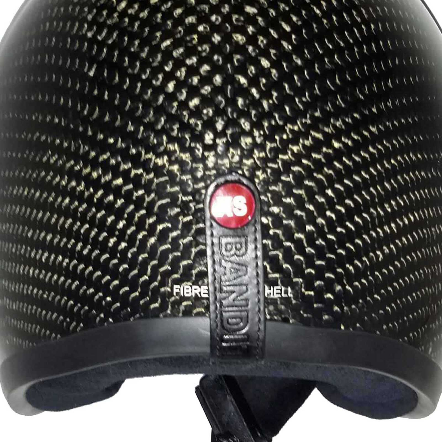 Bandit Genuine Carbon Jet Helmet - Retro Motorcycle Helmet – Picture 3