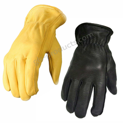Deerskin Leather Gloves ohne Futter – Bild 1