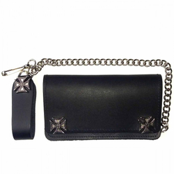 Biker Wallet Iron Cross 001