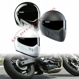 Bandit - XXR - New Motorcycle Helmet - for Streetfighter, Mad Max – Picture 15