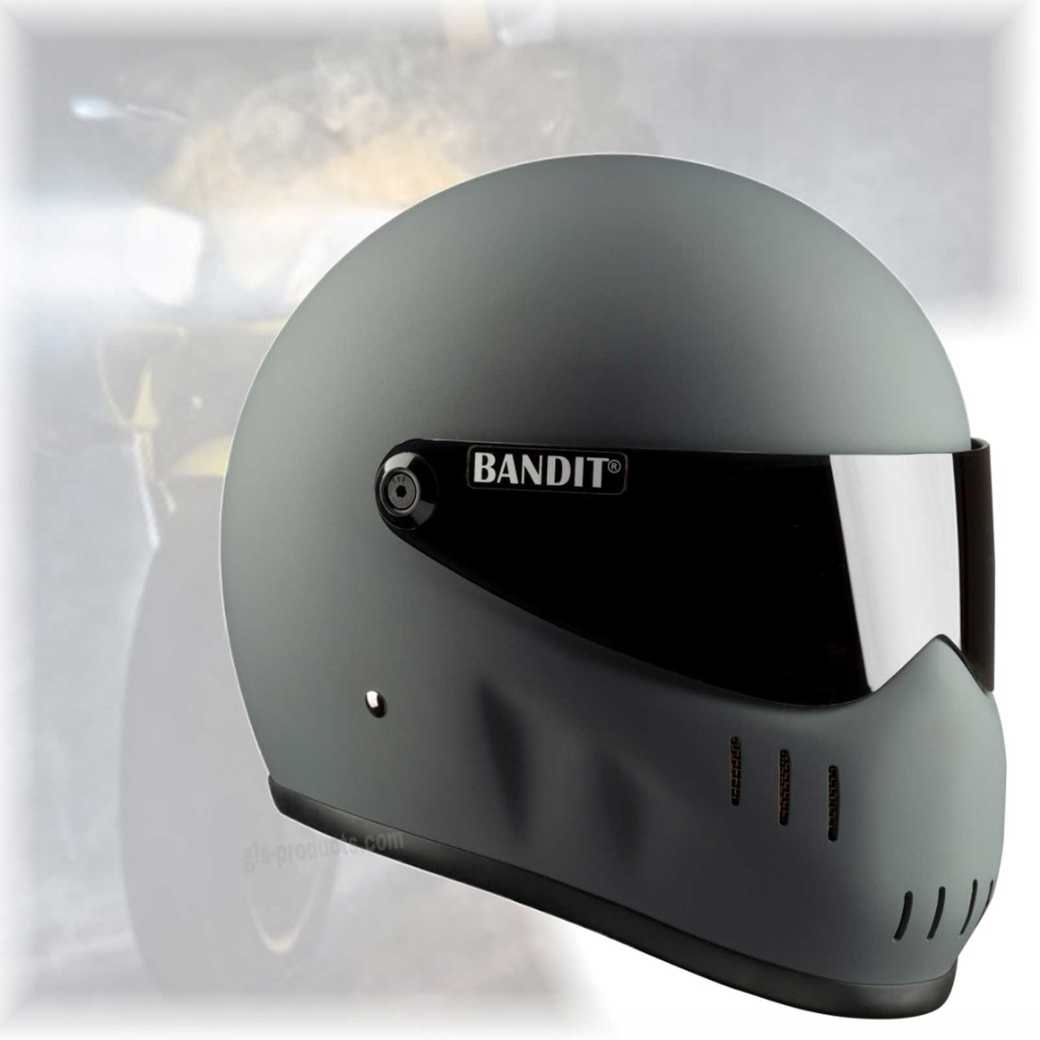 Bandit - XXR - New Motorcycle Helmet - for Streetfighter, Mad Max – Picture 2