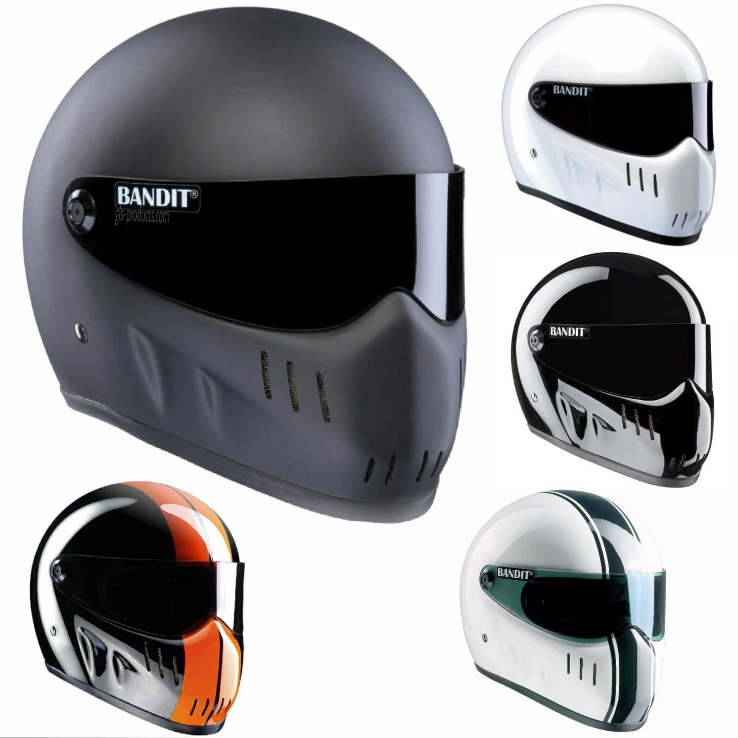 Bandit - XXR - New Motorcycle Helmet - for Streetfighter, Mad Max – Picture 1