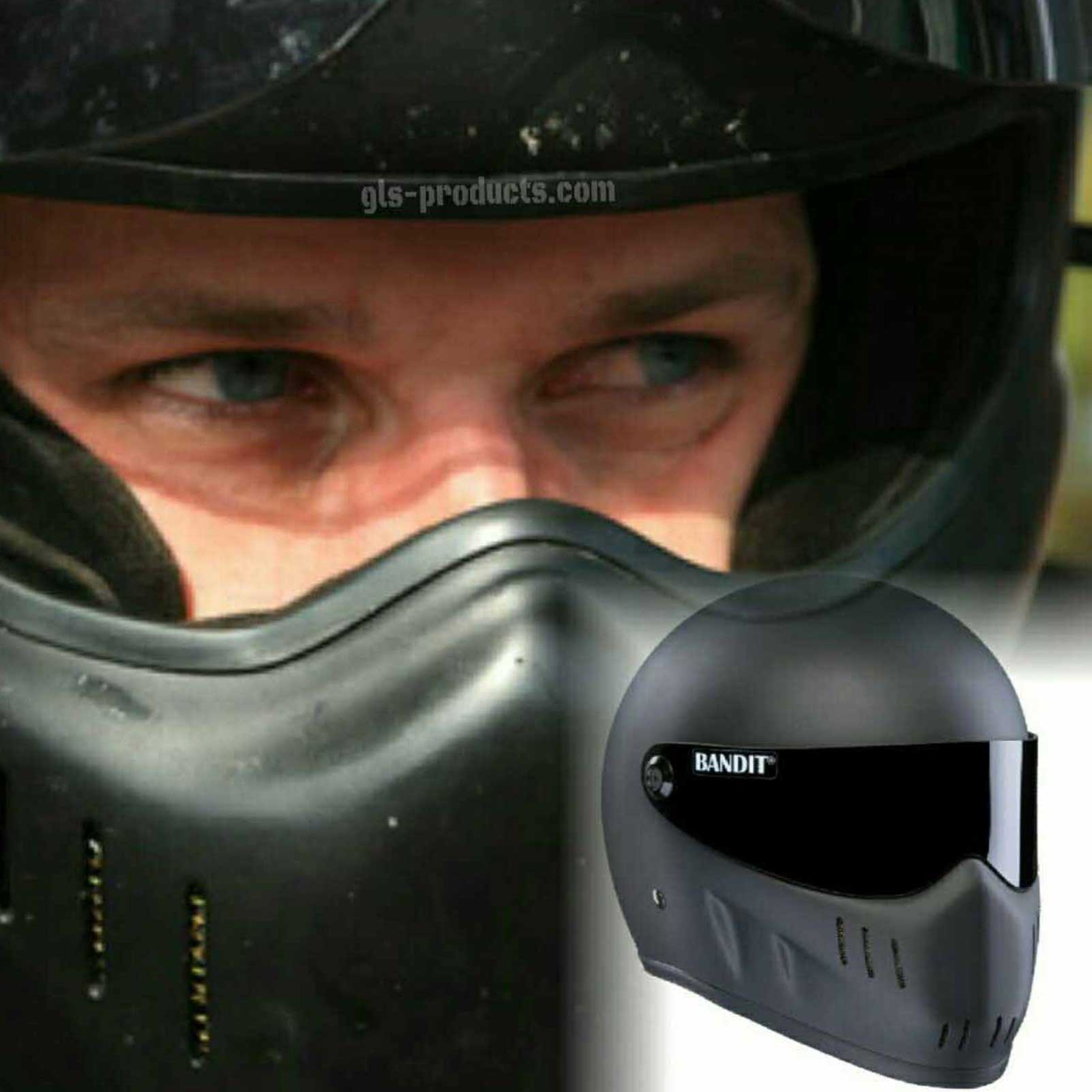 Bandit - XXR - New Motorcycle Helmet - for Streetfighter, Mad Max – Picture 10