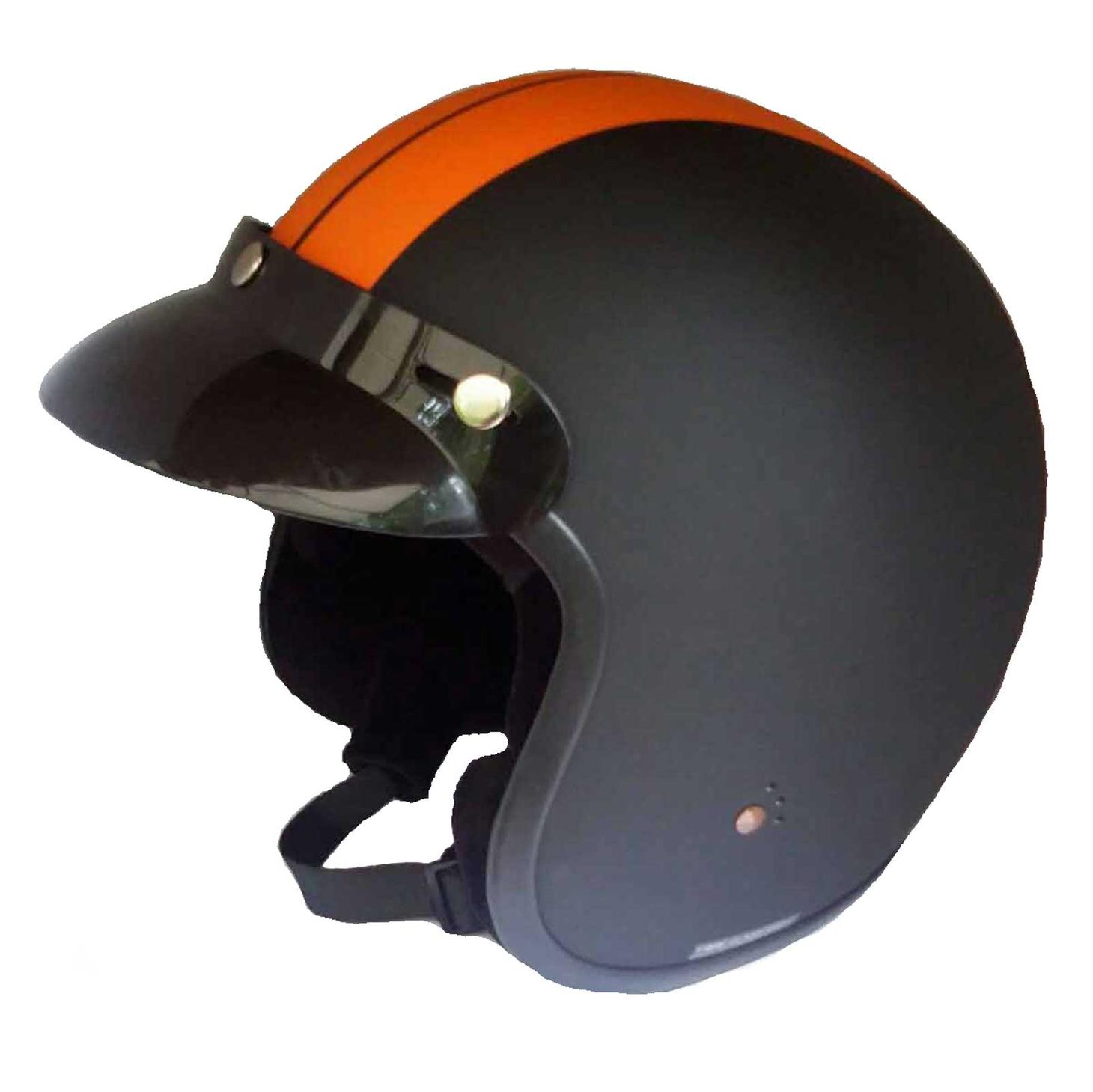 Bandit Mini ECE Jet Helmet - ECE 22-05 Certified Motorcycle Helmet – Picture 6