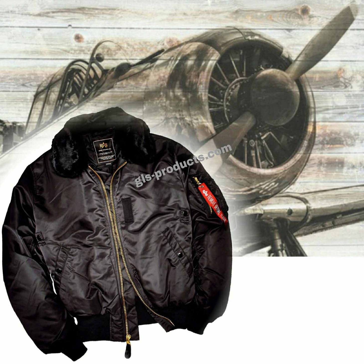 Alpha Industries B15 Jacket 100107 – Picture 9