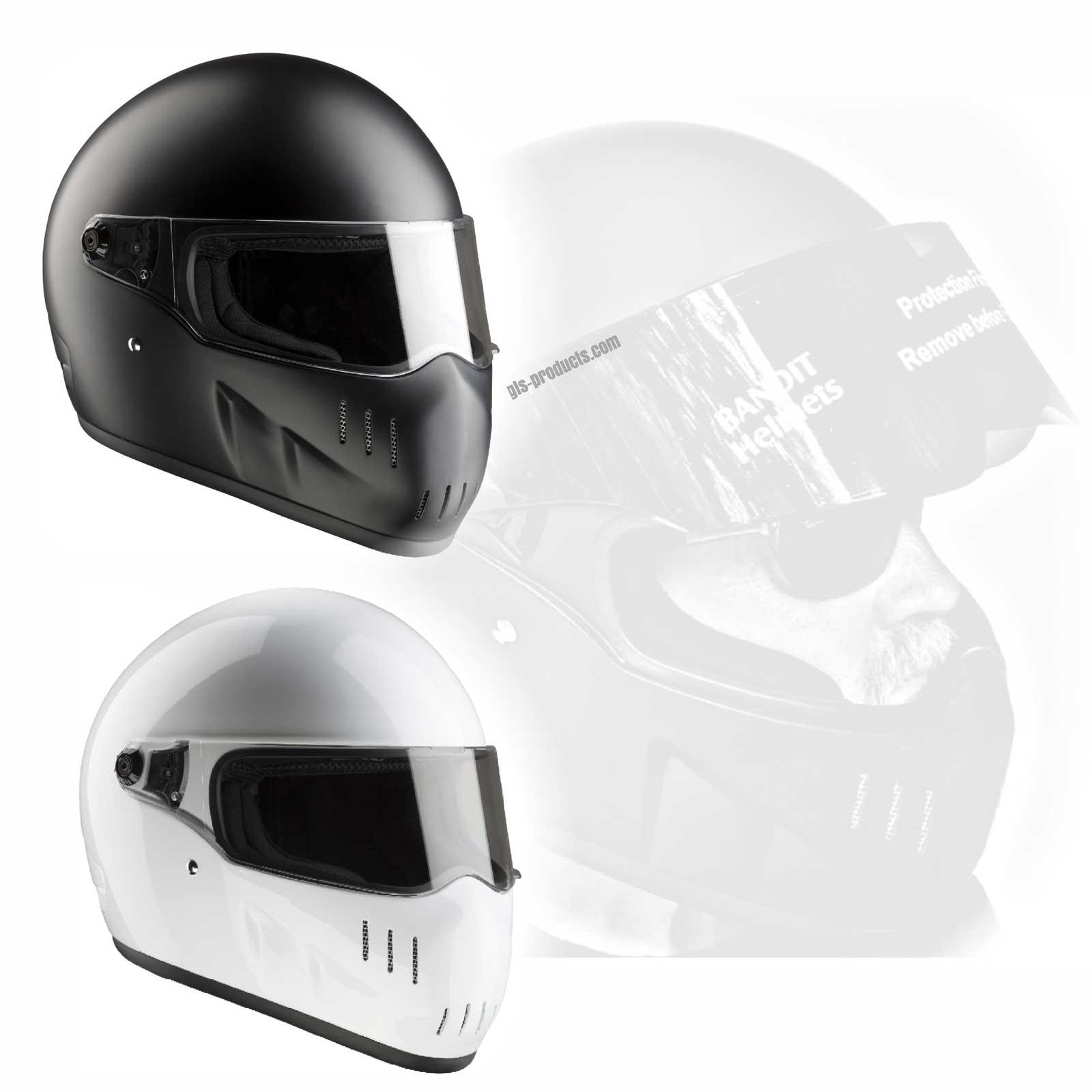 bandit helmets exx xxr full face figther helmet ece 22 05. Black Bedroom Furniture Sets. Home Design Ideas