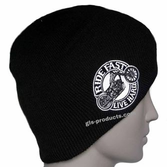 Beanie Circle Bike Knit Hat – Picture 3