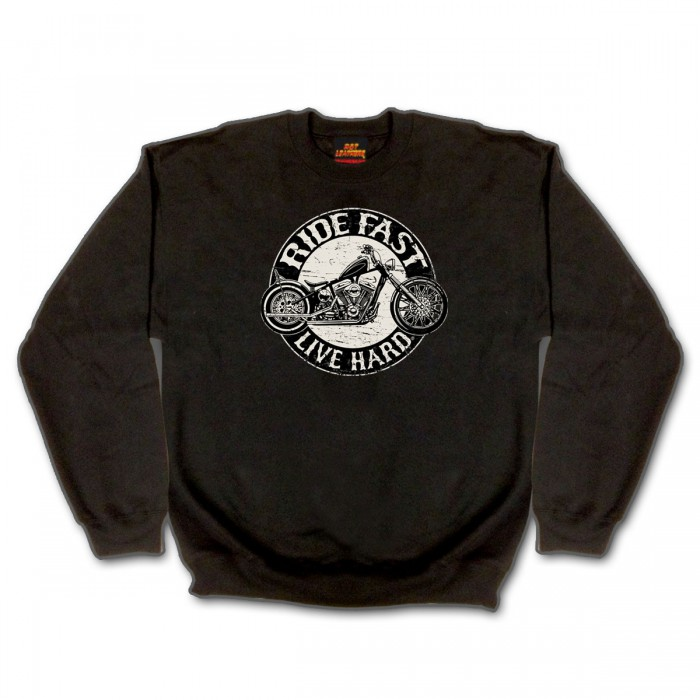 Circle Bike Crew Neck Sweatshirt Circle Bike Crew Neck Sweatshirt